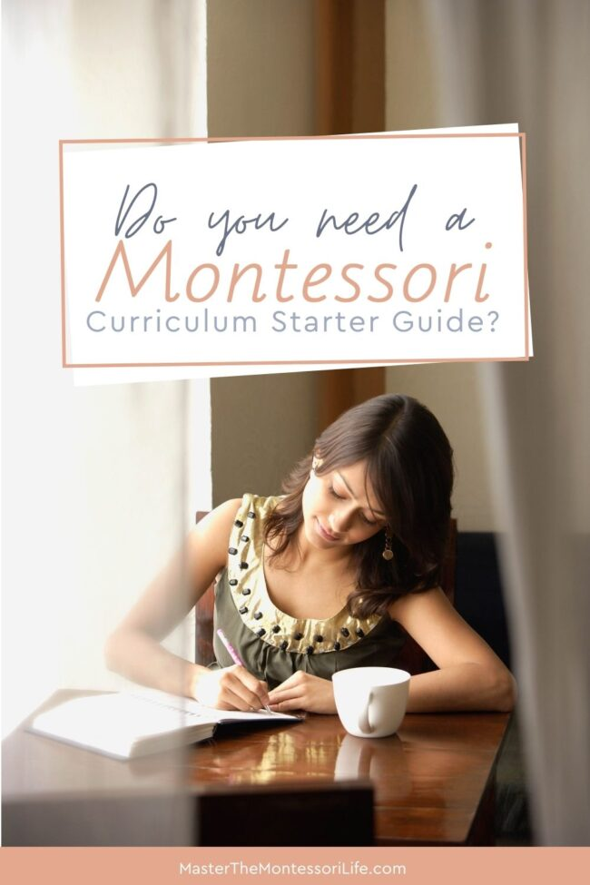 There are some keys and tricks that I figured out about the Montessori Curriculum by using a starter guide that I am going to share with you in this post.