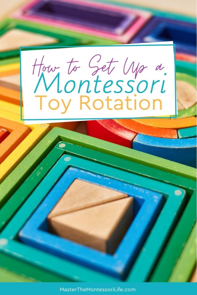In this post, we will be discussing toy rotation The Montessori Way and get some insight on why it is important to consider doing it in your Montessori home or play area.