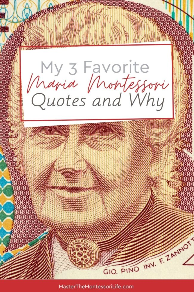 In this post, live show recording and podcast episode, I am going to share with you 3 favorite Montessori quotes for you to ponder on and learn more about this lovely philosophy.