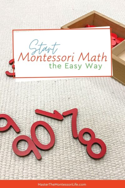 When thinking about Montessroi Math, you can be intimidated by that. But don't fret. Here is a great way to get started! You will get a checklist with some of the first Montessori works that you can start with and a list of resources with clickable links that can help you along.