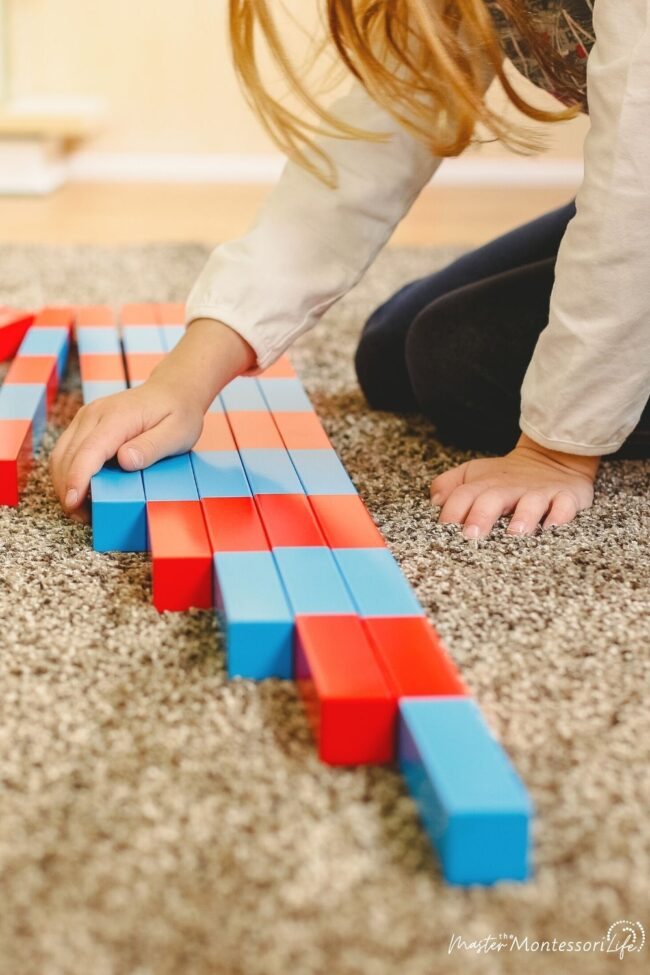 When thinking about Montessroi Math, you can be intimidated by that. But don't fret. Here is a great way to get started!