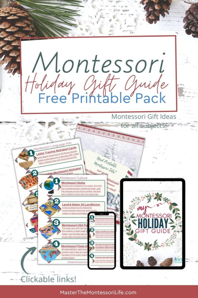I've made it very simple for you to get your hands on these fantastic ideas for Montessori education!