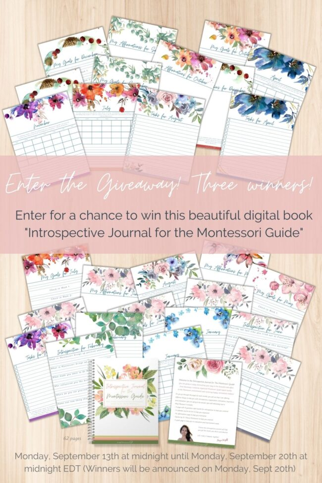 I put together this awesome giveaway with one of our most popular resources! Enter here!