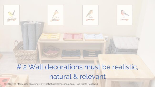 Do you want to know how to decorate your Montessori environment in a way that is consistent with the Montessori principles? Read on.